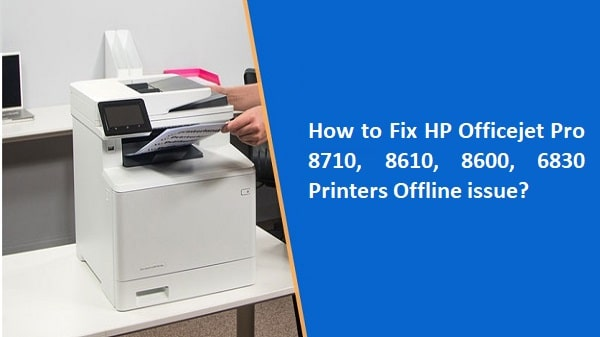 HP Officejet Pro Printers Offline