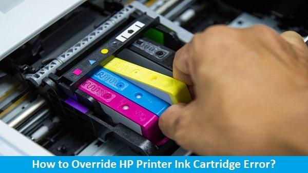 fix override hp printer cartridge error